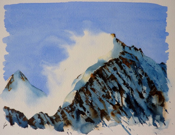 Piz Bernina: Biancograt